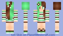 ♥κιπιε♥ Mint Chocolate *Inspired By Oblivion_Gamer* Minecraft Skin