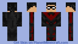 Nightwing Minecraft Skin