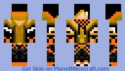 Orange Boy Minecraft Skin