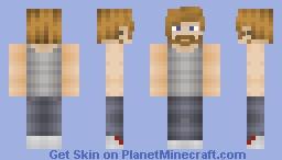 Some Metal Lookin Guy (1 Hour Speed Skinning) Minecraft Skin