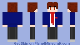Kyon キョン - The Melancholy of Haruhi Suzumiya Minecraft Skin