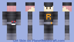 Team Rocket Grunt (Seven alternate versions in description) Minecraft Skin