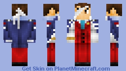 Apollo Justice - Ace Attorney: Dual Destinies (With Objection & Normal Alts) Minecraft