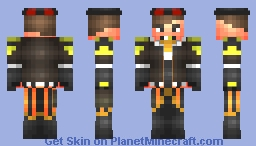 ◊ ₥∆♪ ◊ - Jonathan The Steampunker Pirate - (Life On The High Seas Skin Contest!) (91th Place!) Minecraft Skin