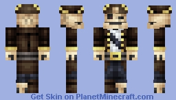 Captain Skelly [Contest Finalist (62 place :D)] Minecraft Skin