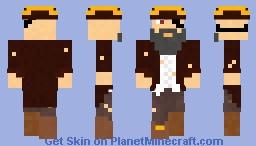 Captain BlockBeard Minecraft Skin