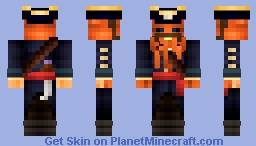 Captain Inkbeard (Life on the High Seas Contest) 32nd Place - Paint_Bucket Minecraft Skin
