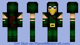 Green Arrow Minecraft Skin