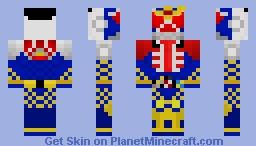 Kamen Rider Gaim (Wizard Arms) Minecraft Skin
