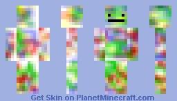 Modern art - Canvas Man Minecraft Skin