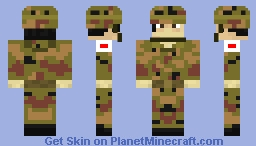 Japanese Army Skin [☠ Demon Good☠]