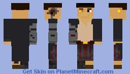 captain silver (Treasure planet) Minecraft Skin