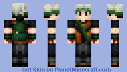 Pokemon Emerald - Brendan/Ruby - Personal Skin Minecraft Skin
