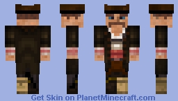 The terrors of the sea Minecraft Skin