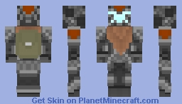 Titan Fall Skin Minecraft Skin