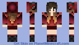 Vampire Girl •∞• Minecraft Skin