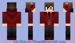 vampire DJ boy •∞• Minecraft Skin