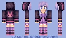 Yuzuki Yukari [Vocaloid] Minecraft Skin