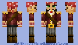 "Capt. Arther Friseur (A.K.A.) ""Captain Baldbeard"" Minecraft Skin"