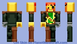 Captain Redbeard (Lego) (39th Place!) Minecraft Skin