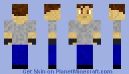 Connor Temple Primeval Minecraft Skin