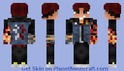 Delsin Rowe (InFamous Second Son) (1.8) Minecraft