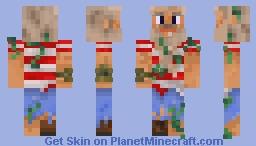 Gramps Seaweed Minecraft Skin