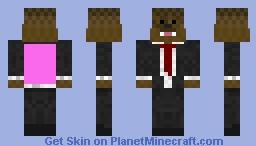 JeromeASF Aka Fluffy With A Pink Cape ;) Minecraft Skin Jeromeasf Skin Planet Minecraft