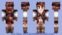 Gill Fishbones, ship Musician [contest] Minecraft Skin