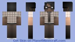 Moss / THE IT CROWD Minecraft Skin