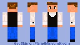 Johnny Cash Minecraft Skin