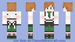 Mahou-Shoujo Cloud-Kun Minecraft Skin