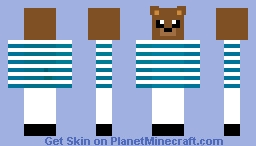 Sailor Bear Minecraft Skin