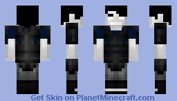Plate Armored Cloud Silver Minecraft Skin