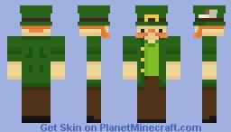 Shammy the Leprechaun Minecraft Skin