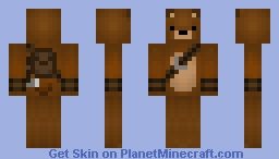 Camping Bear Minecraft Skin