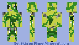 Monster from Sand and Kelps Minecraft Skin