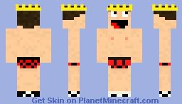 the king of underwears! Minecraft Skin