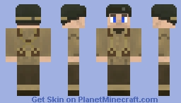 WW2 B.A.R soldier Minecraft