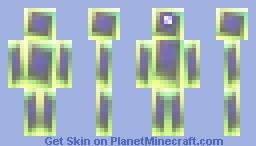 CYBER-BOT Minecraft Skin