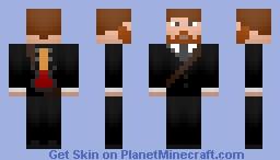 Dan Auerbach-The Black Keys Minecraft Skin