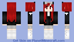 Danica Hoffman - LIL-Danica's OC (Fan Skin) ςђєггץ Minecraft Skin