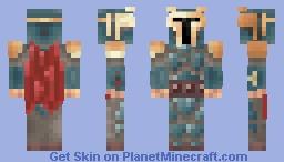 Mandalorian Death Watch Minecraft Skin