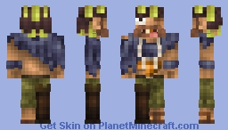 Golden Tooth Blackfox - The Thief of Sea [Contest] Minecraft Skin