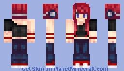 Medea, the extraordinarily ordinary OC. Minecraft Skin