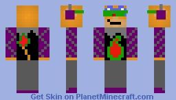 Monferno, the acid suit Minecraft Skin