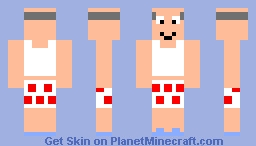 old man Minecraft Skin