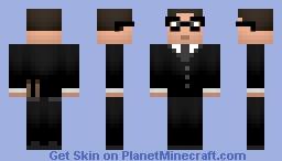 Patrick Carney-The Black Keys Minecraft Skin