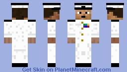 US Naval Intelligence Officer (U.S.N.I) Minecraft Skin