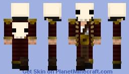 Captain Mason Black [Contest] [Backstory in Desc.] Minecraft Skin